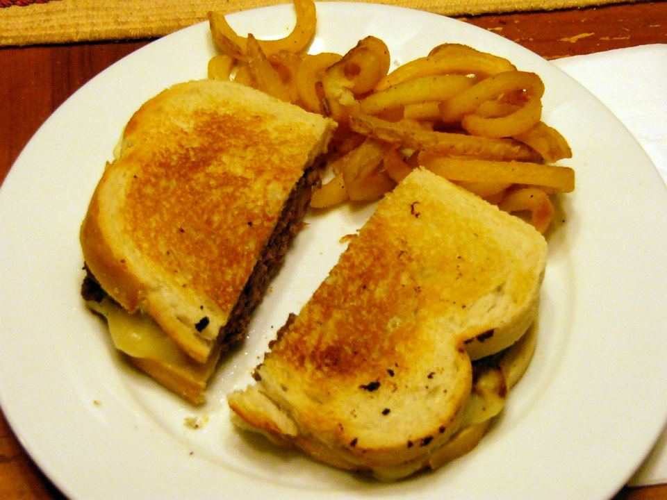 Patty Melts with Grilled Onions on Sourdough | Rosemarie's Kitchen