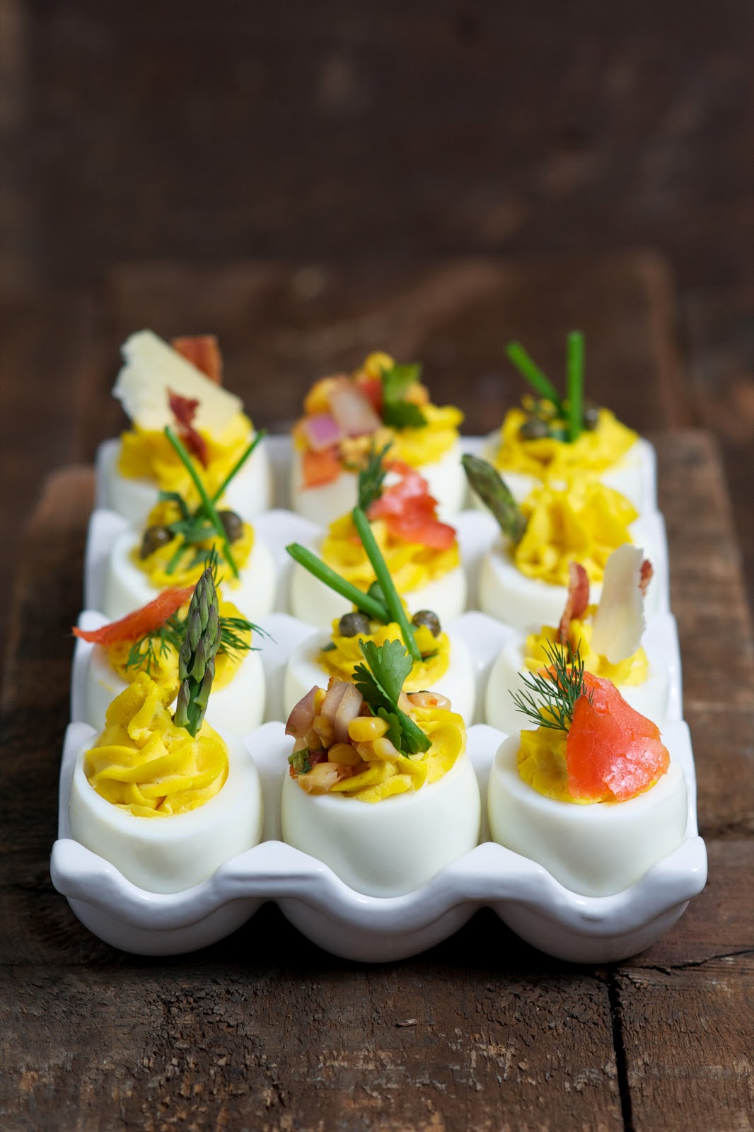 Cold appetizers rosemarie 39 s kitchen for Table 52 deviled eggs recipe