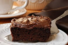 Chocolate Fudge Cake with Chocolate Fudge Frosting