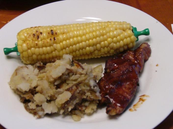 Pork - Country Ribs Golden Eagle Barbecue Sauce