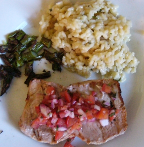 Pork - Grilled Pork with Italian Relish
