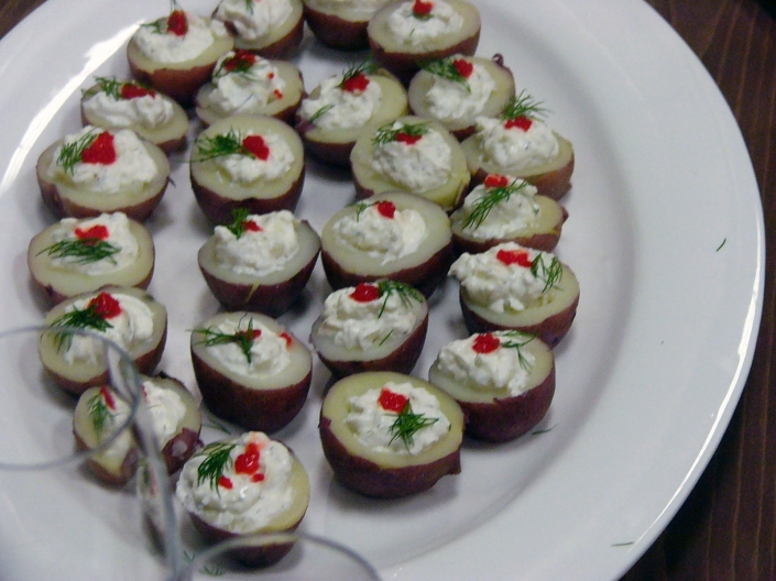 Christmas Potato Platter