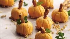 Thanksgiving Pumpkin Patch Cheese Balls