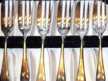 English Cake Forks