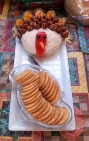 smoked turkey cheese ball