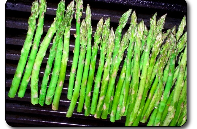 love asparagus especially asparagus that is pan seared roasted or