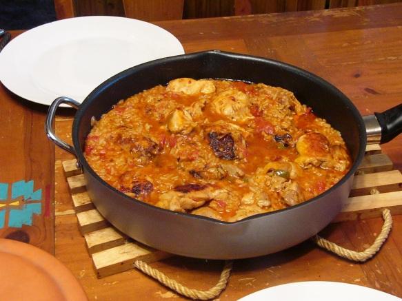 Spicy Chicken Thighs in Spanish Rice (6)
