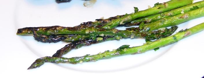 Asparagus - pan seared