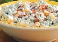 Pea & Cheddar Cheese Salad