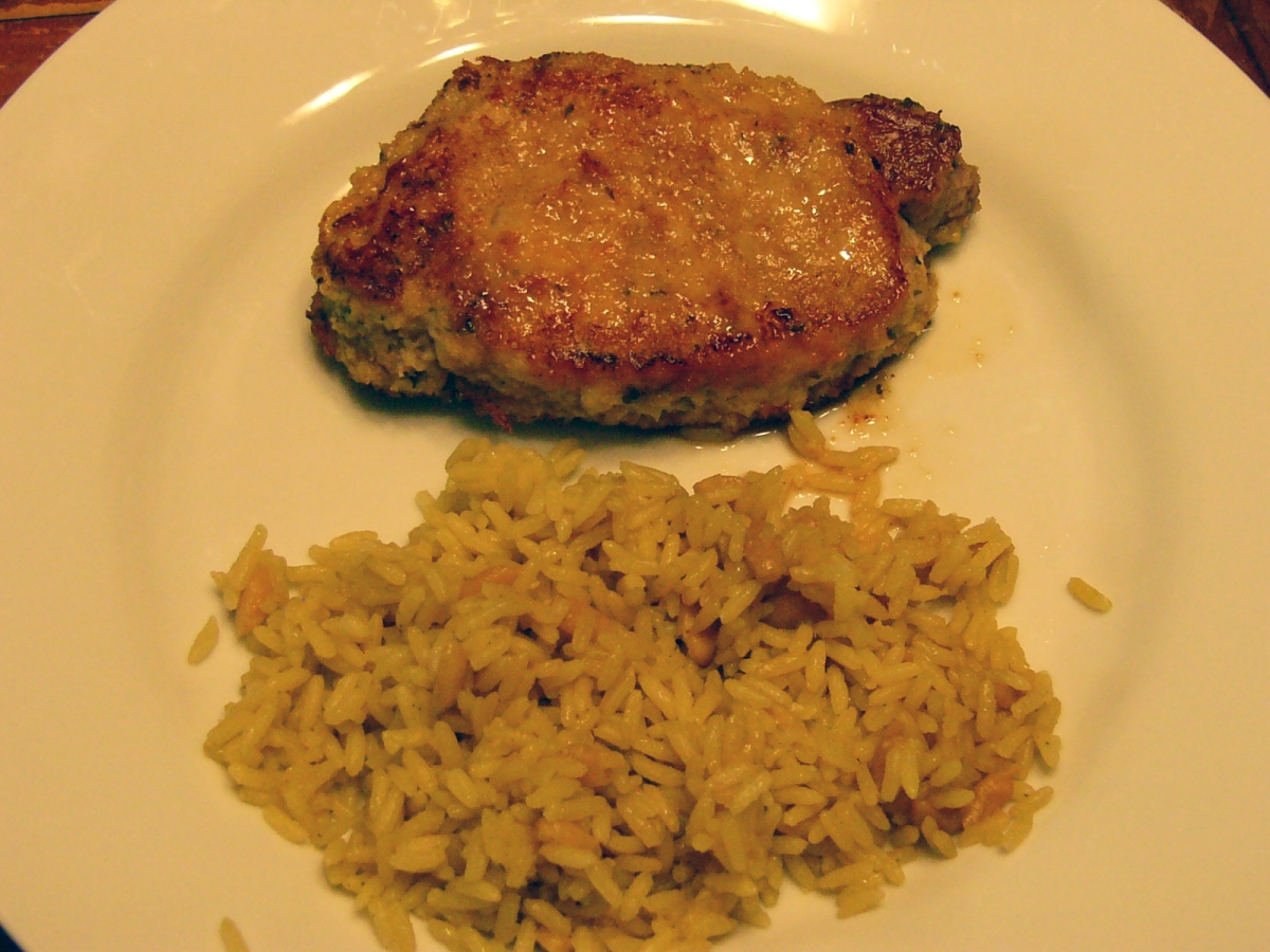 Unbelivably Moist Italian Breaded Pork Chops | Rosemarie's Kitchen