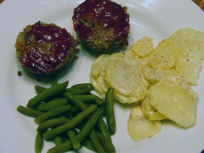 Meatloaf Muffins  (2)