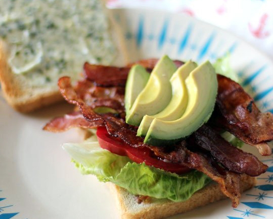 ... Avocado BLT Sandwich with Basil Mayonnaise | Rosemarie's Kitchen