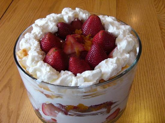 Strawberry-Orange Trifle (17)