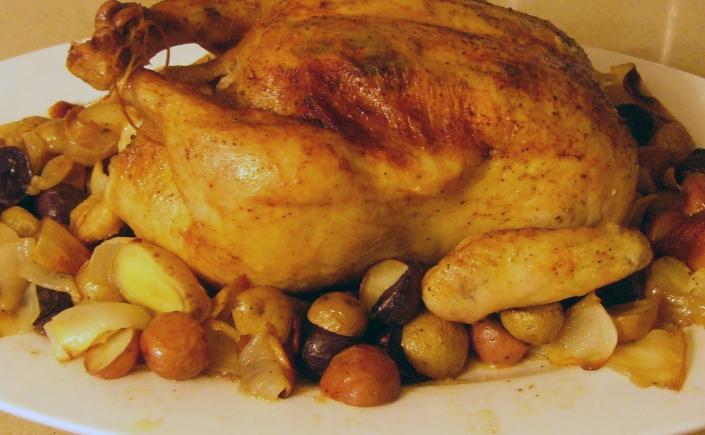 Chicken - One Pot Chicken Dinner 02-24-2012