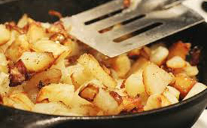how to know when potatoes are fried