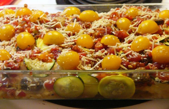 Easy Chicken Baked with Vegetables (8)
