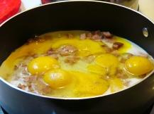 Scrambled Eggs with Ham(3)