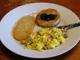 Scrambled Eggs with Ham(5)