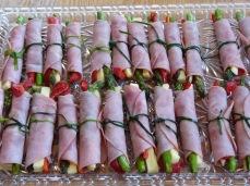Easter Ham Wraps