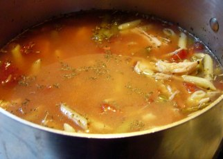 Easy Italian Chicken Soup (2)