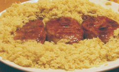 Honey & Spice-Glazed Pork Chops (2)
