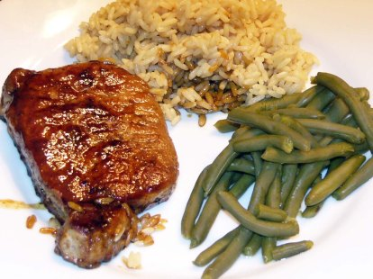 Honey & Spice-Glazed Pork Chops (5)