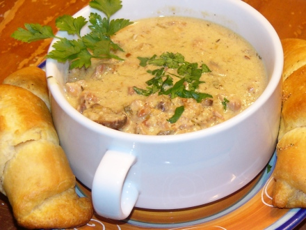 Smoke Chicken Cream Soup (5)
