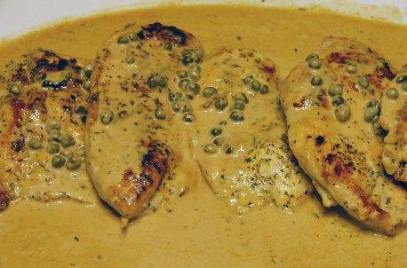 Chicken Caper Cream (6)