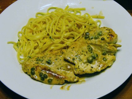 Chicken Caper Cream (7)