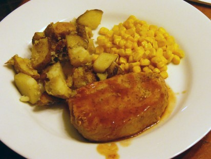 Oven Baked Barbecue Pork Chops (5)
