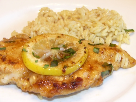 Buttery Lemon Chicken Tarragon (11)
