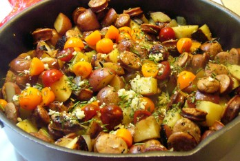 Italian Chicken Sausage & Potatoes (10)