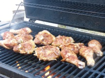 Spice Rubbed Grilled Chicken with Smoky Orange Sauce (2)