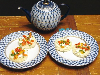 Feta Tea Sandwiches (4)