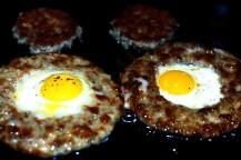 quail-eggs-sausage-english-muffins-2